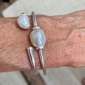 Kendra Scott Amiya Bright Silver Cuff Bracelet
